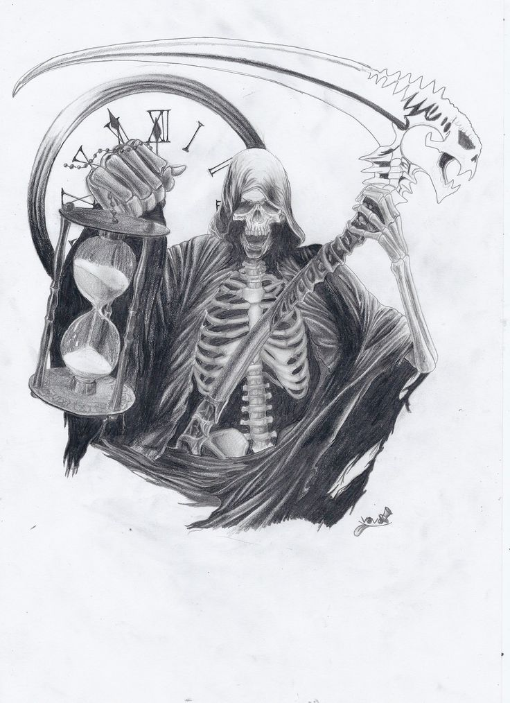 Drawn grim reaper smoke Tattoo Semar 25+ ideas Grim