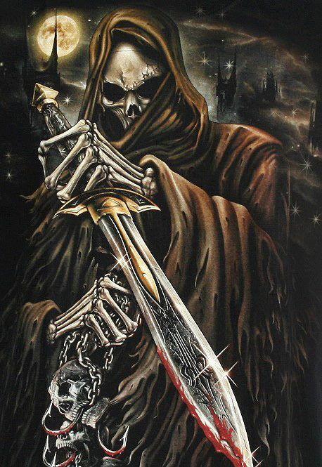 Drawn grim reaper sword Best Reaper images 404 on