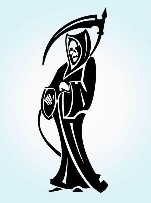 Reaper clipart tribal Download Free  Reaper Graphics