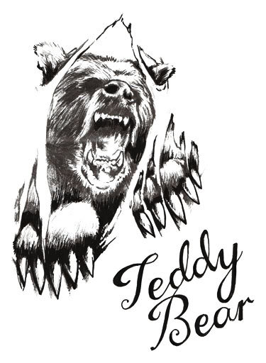 Drawn grizzly bear awesome And Pinterest Teddy Bear tattoo