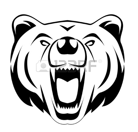 Drawn grizzly bear bear head Illustration Pinterest Suche bear Bears
