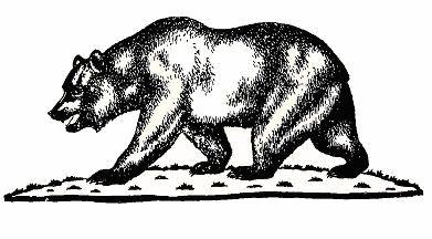 Grizzly Bear clipart california bear Download Bear Animal California Free