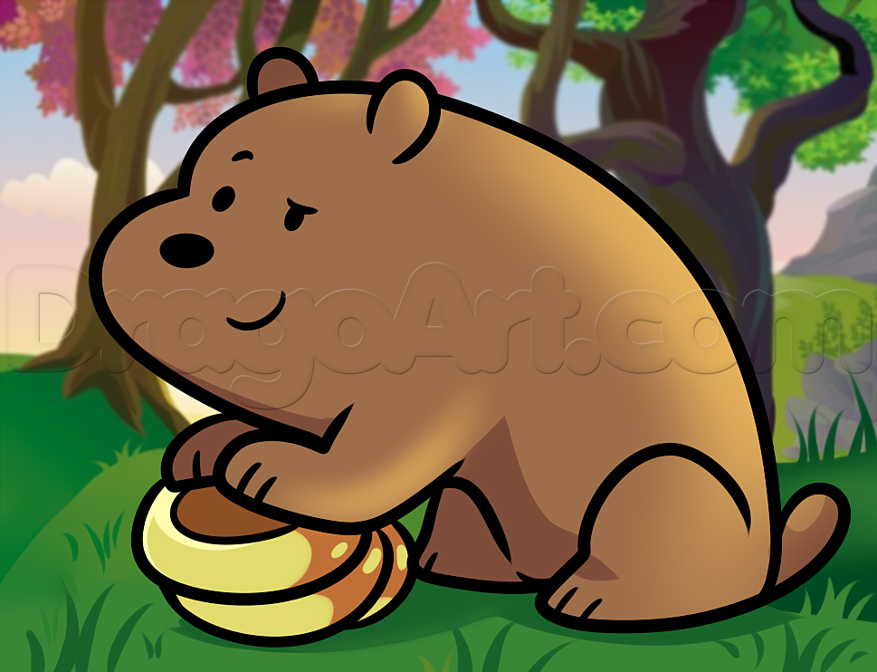 Drawn grizzly bear chibi Bears :3 how from we