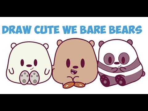 Drawn grizzly bear chibi (Cute Draw Bears (Cute /