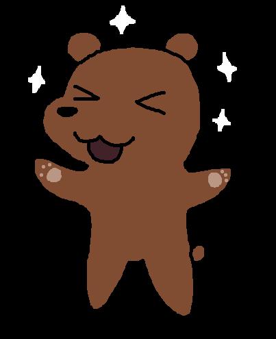 Drawn grizzly bear chibi Weasyl Bear — Grizzly Grizzly