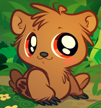 Drawn grizzly bear chibi How to grizzly grizzly Pinterest