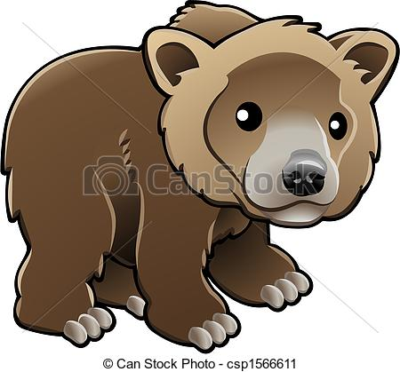 Brown Bear clipart drawn Illustration Clip Cute A