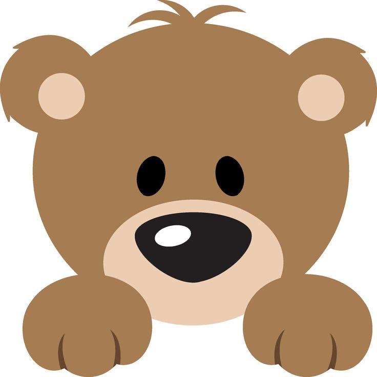Teddy clipart head #5