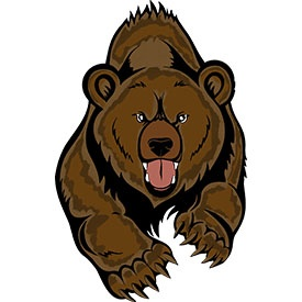 Ferocious clipart Cartoon photo#6 Angry Cartoon grizzly