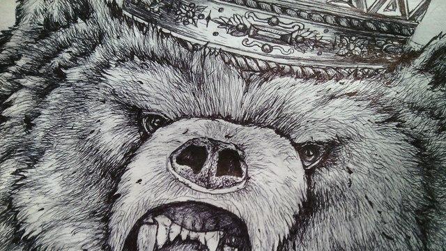 Drawn grizzly bear strong Art Ekatherina grizzly Tumblr Devesilova
