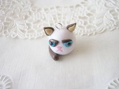 Drawn grumpy cat polymer clay Clay Animals Cat Find more