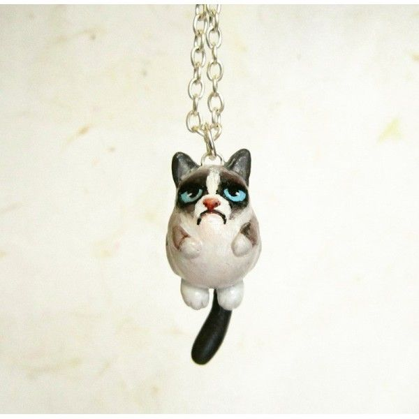 Drawn grumpy cat polymer clay Best Cats Polymer Find more