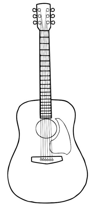 Drawn guitar Drawing ideas Pinterest guitar on
