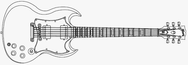 Drawn guitar gibson guitar Mind: Guitars Guitars Erik's
