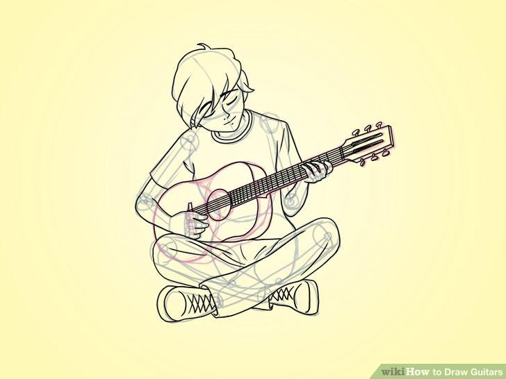 Drawn guitar guitar player Playing guitar Google boy Google