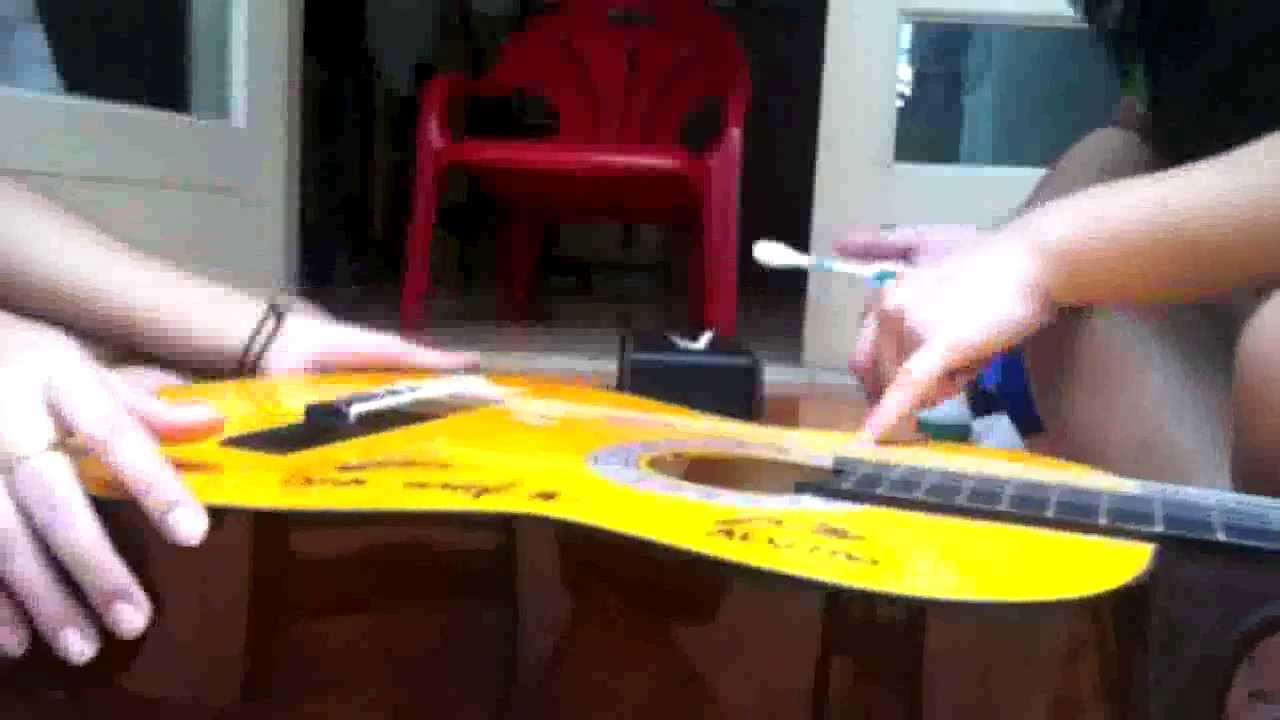 Drawn guitar magic marker From Permanent To Marker Remove