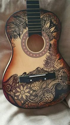 Drawn guitar magic marker Etsy broken the by art
