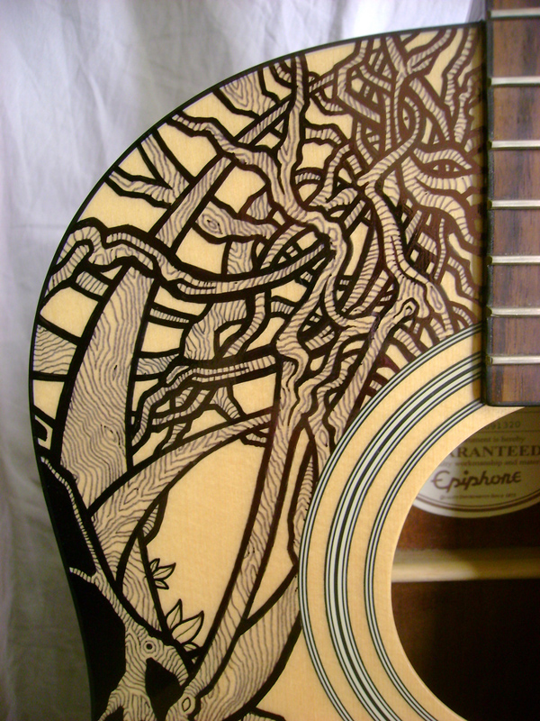 Drawn guitar magic marker A Drawing With On Permanent