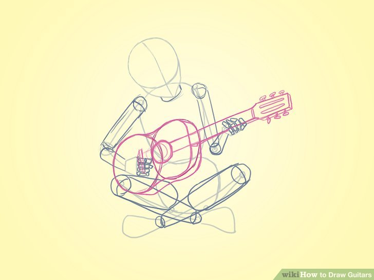 Drawn guitar play guitar Draw Ways to titled Guitars