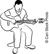 Drawn guitar play guitar 926 Man Images and and