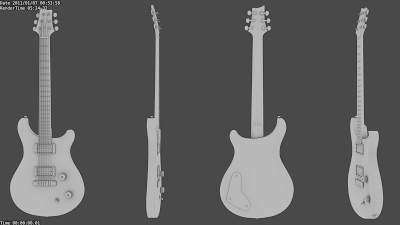 Drawn guitar prs guitar GrabCAD see not it to