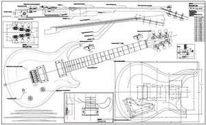 Drawn guitar prs guitar Guitar From Prs and Kits