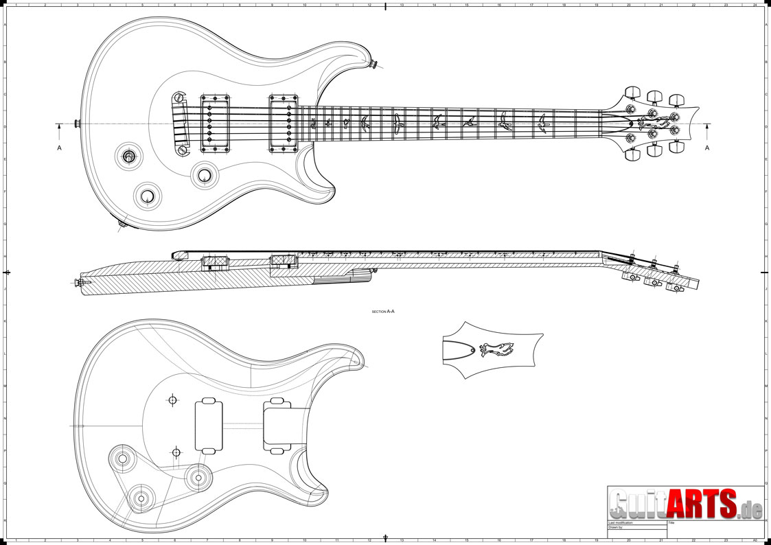 Drawn guitar prs guitar Plan! of guitar Download style