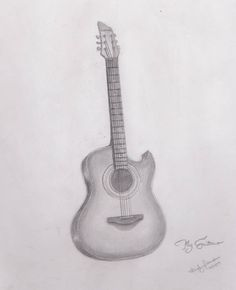 Drawn guitar realistic Pencil+drawings+of+guitars sketches  drawing by