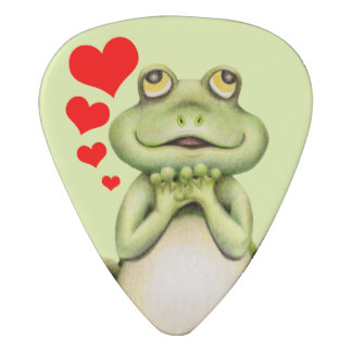 Drawn guitar the word love Pick Zazzle Drawing Guitar Frog