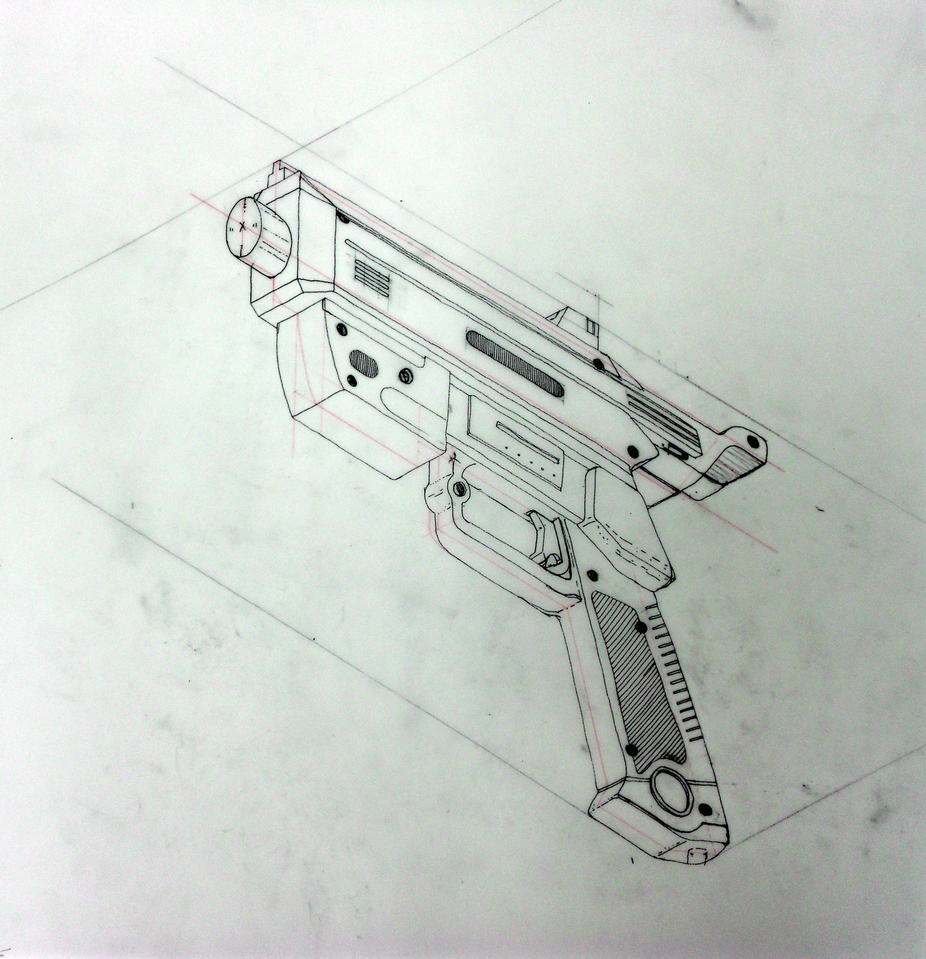 Drawn gun isometric pixel Isometricgun Reverse Isometric Cool Search
