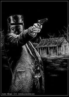 Drawn gun ned kelly DeviantArt bushranger ned Ned by