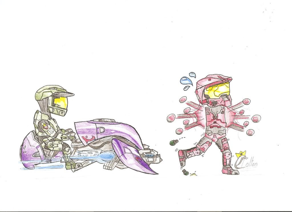 Drawn halo #9