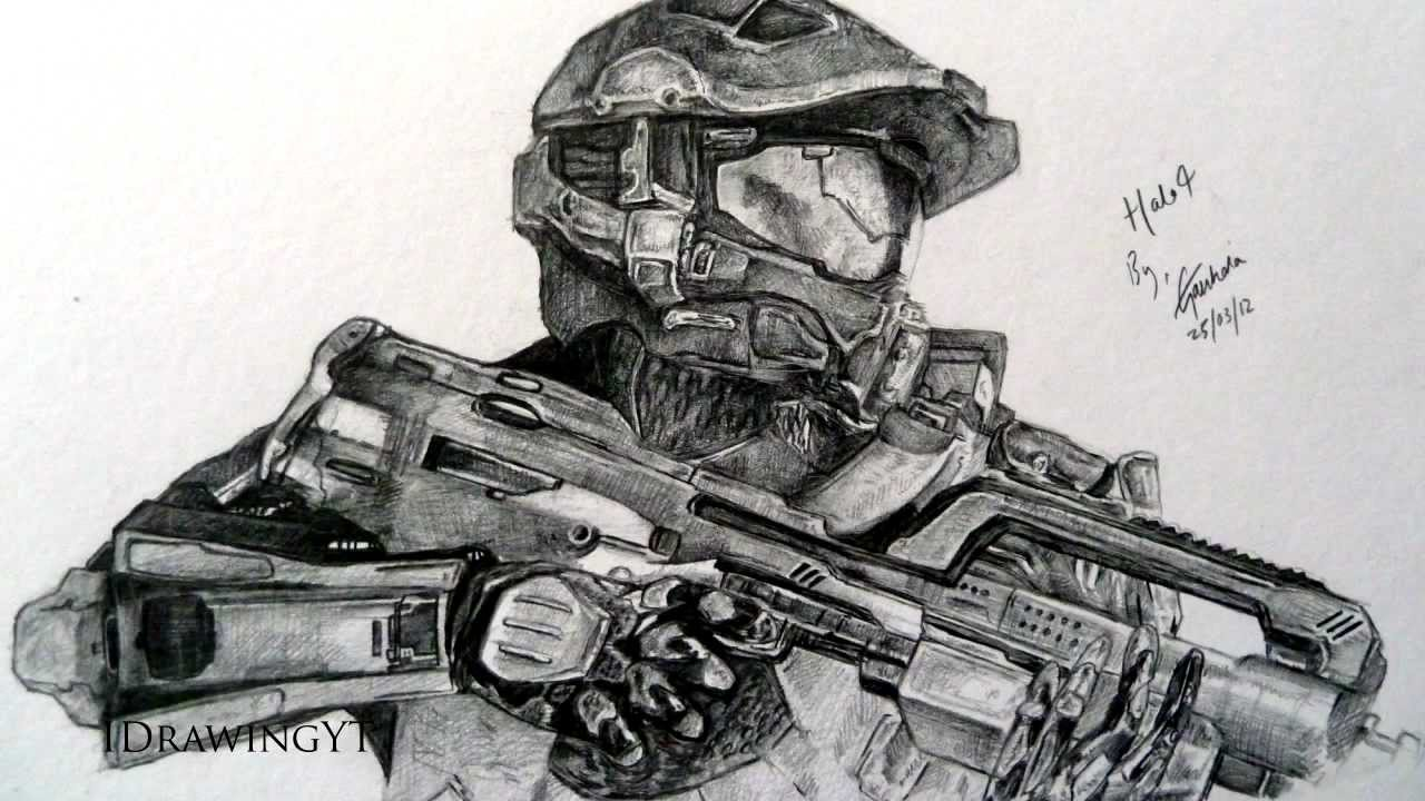 Drawn halo #11