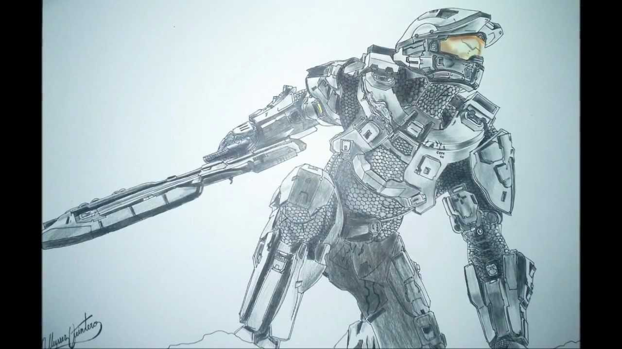 Drawn halo #12