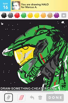Drawn halo #15