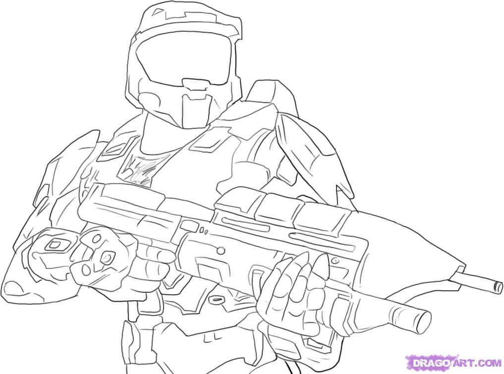 Drawn halo #8