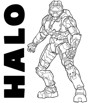 Drawn halo #5