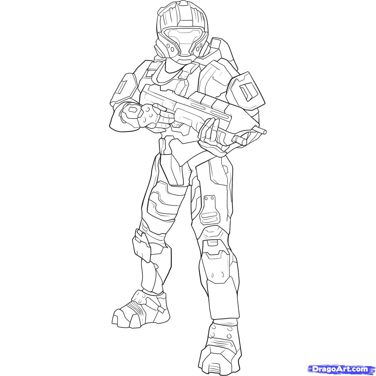 Drawn halo #10