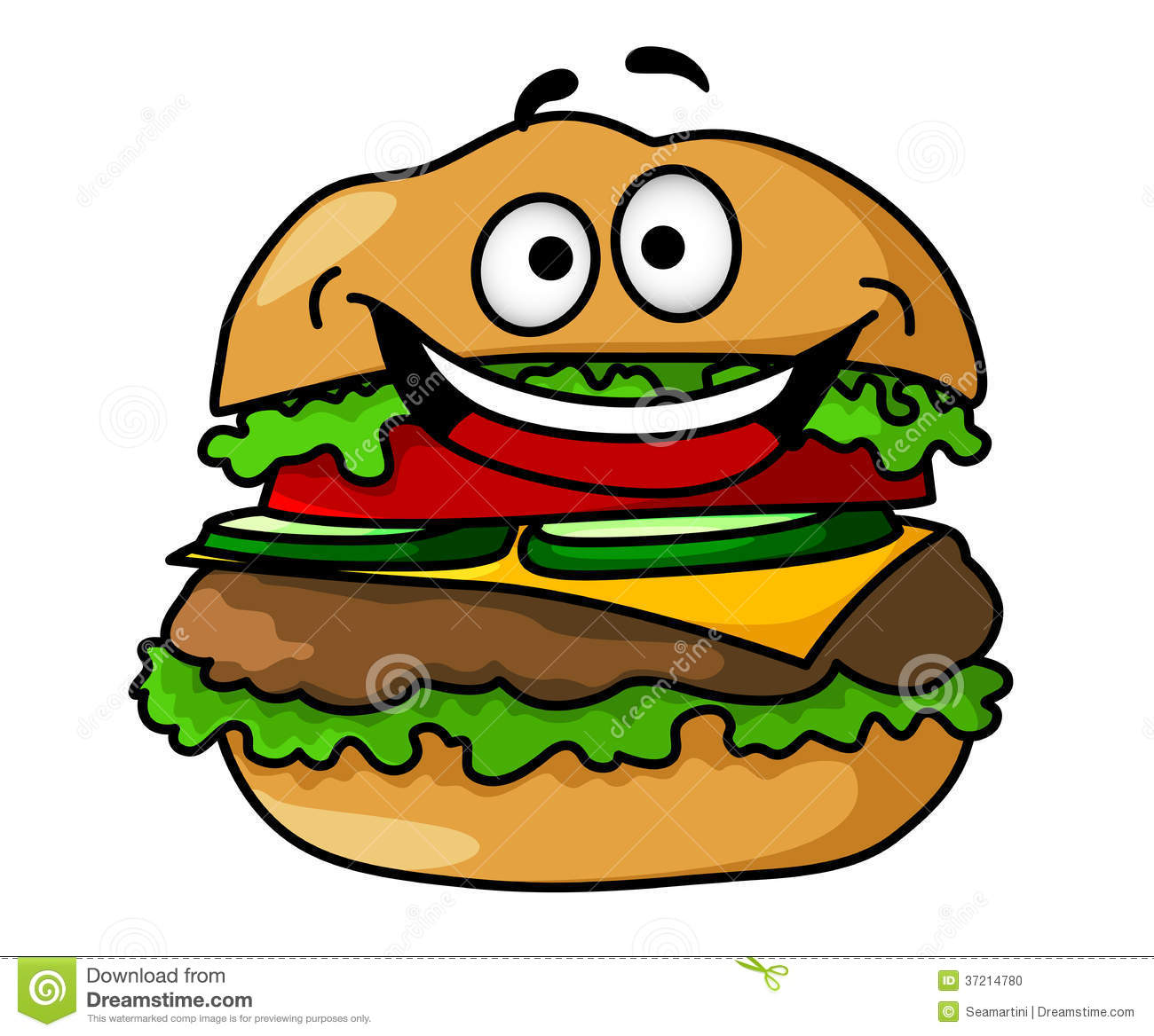Hamburger clipart funny Hamburger WallpaperSafari Pictures Cartoon Hamburger