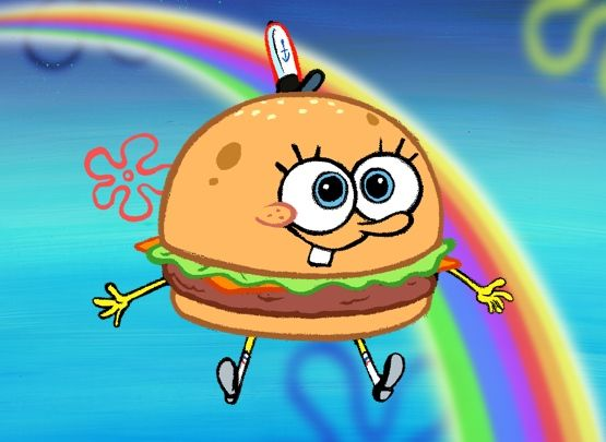 Hamburger clipart krabby patty Pinterest Krabby Patty best 248