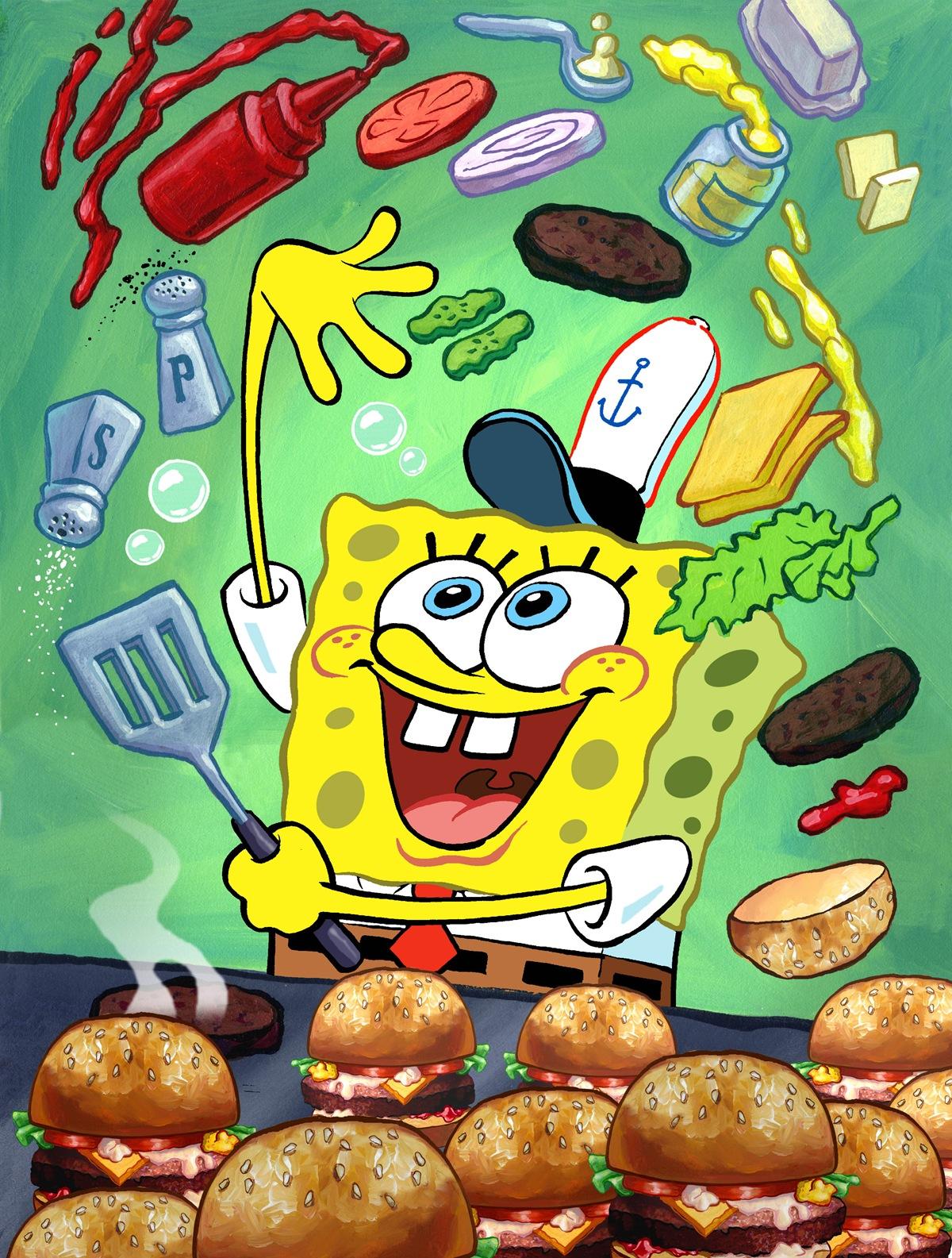 Burger clipart krabby patty Recipe Spongebob Patty squarepants Jelly