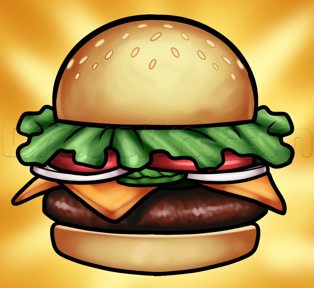 Hamburger clipart krabby patty Step Step Step patty Patty