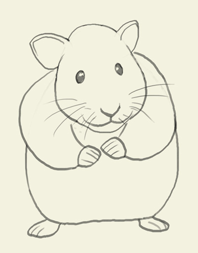 Drawn hamster Pinterest to Basic Zeichnen How