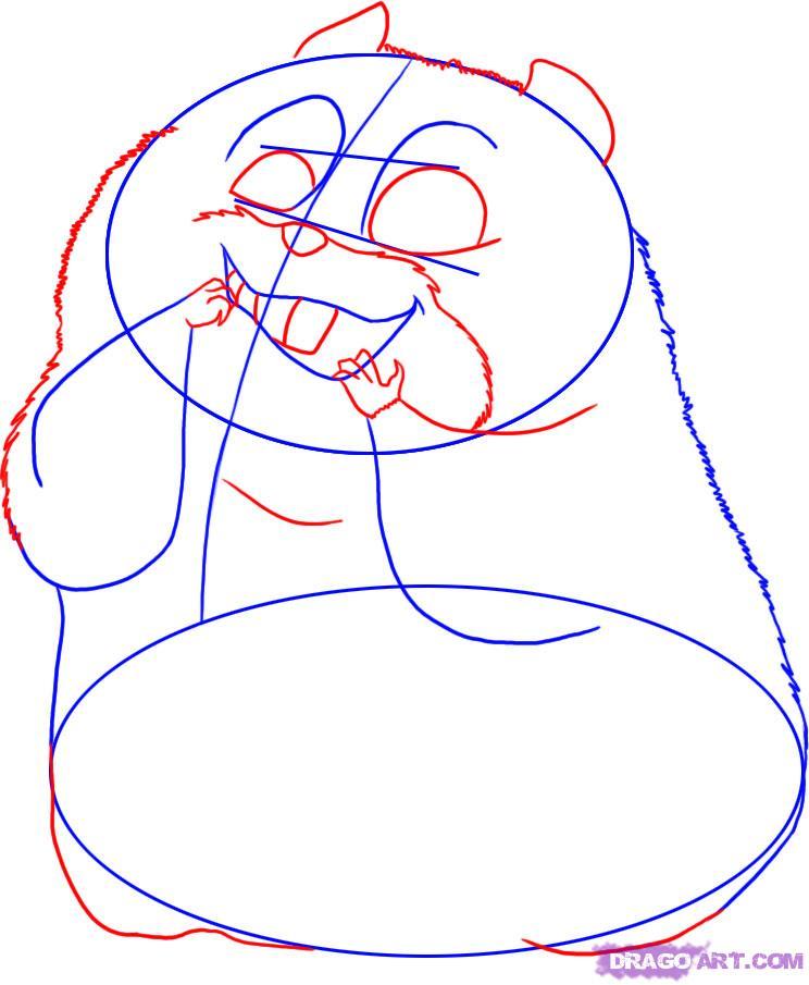 Drawn rhino bolt Step Draw bolt the 3