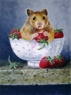 Drawn hamster robo Search Painting quả Pinterest