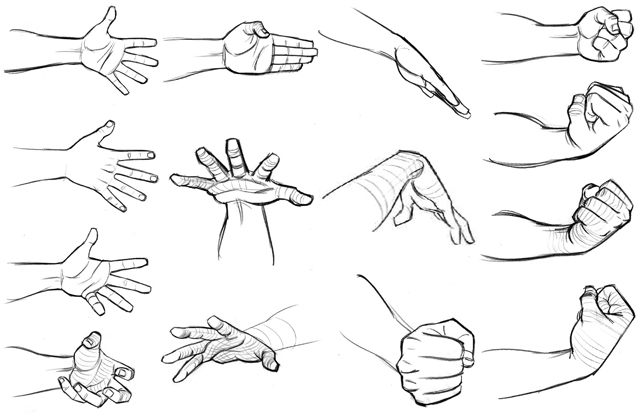 Drawn hand Draw how_to_draw_hands_7 A how_to_draw_hands_6 How
