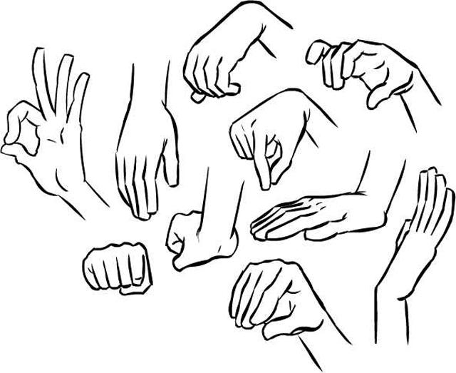 Drawn hand Maniac Draw To Hands Draw