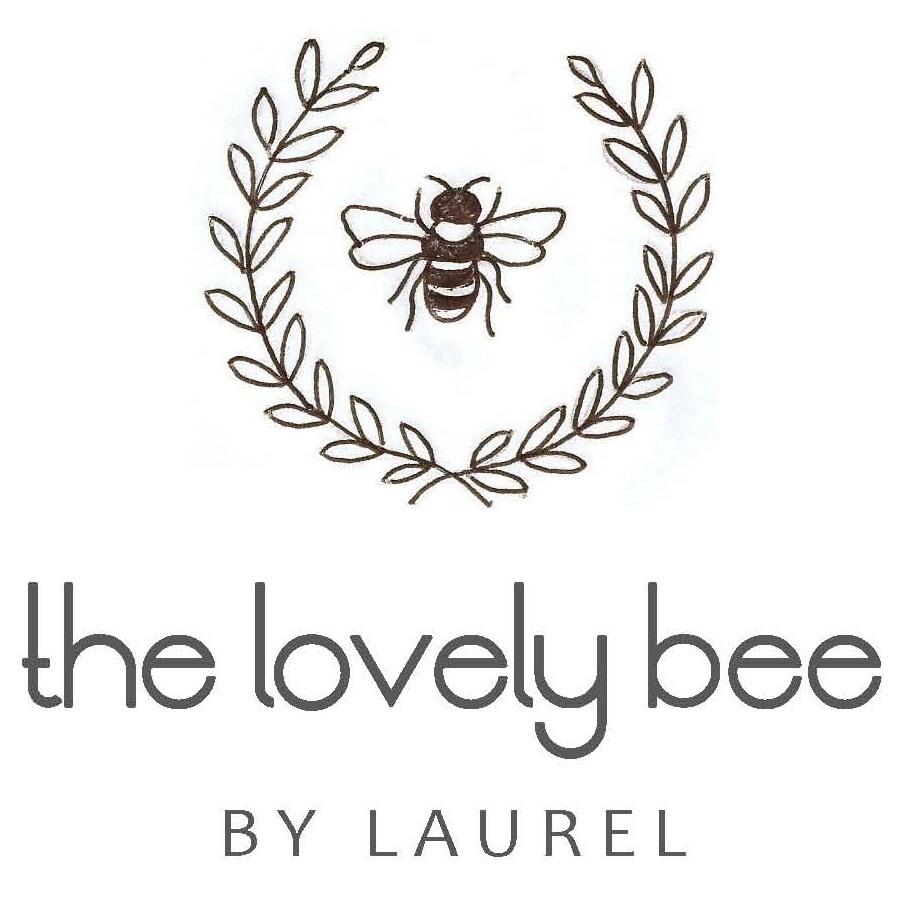 Drawn hand bee Laurel All Lovely Began… –
