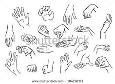 Drawn hand gesture Pinterest Search hand drawing drawing