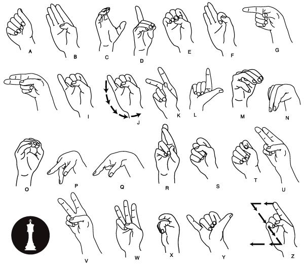 Drawn hand gesture #4